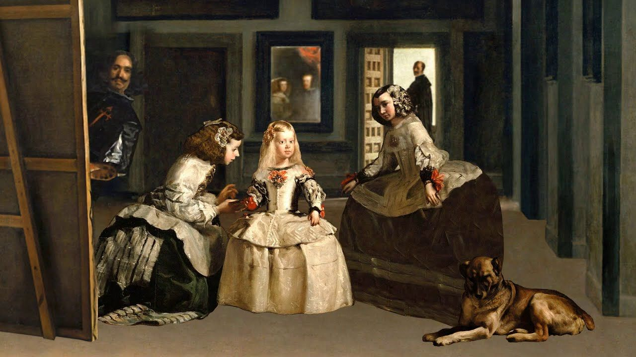 Adiestramiento-canino-BEC_Razas-espanolas_Mastin-espanol-las meninas velazquez